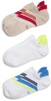 Hue Air Sleek Tab-Back Cushion Liner Socks