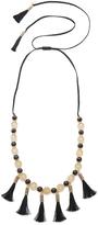 Kate Spade Moroccan Tile Tassel Statement Necklace