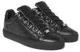 Balenciaga Arena Creased-Leather Sneakers