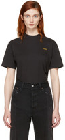 Vetements Black Basic staff T-shirt