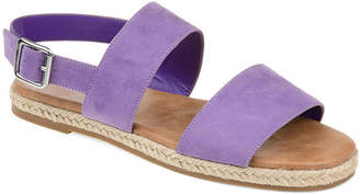 Journee Collection Womens Jc Georgia Ankle Strap Flat Sandals