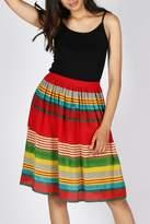 Anupamaa Red Gajari Skirt