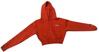 Heron Preston Orange Cotton Knitwear