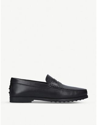 Tod's Leather slip-on loafer
