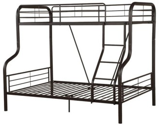 ACME Furniture Bunk Bed, Twin Over Full, Sandy Black