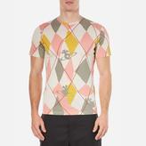 Vivienne Westwood Man Harlequin Diamonds Tshirt - Pink Harlequin
