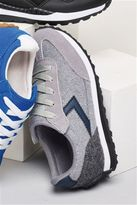Next Boys Navy Touch And Close Trainers (Older Boys)