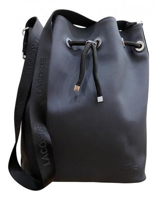 Lacoste Navy Patent leather Handbags