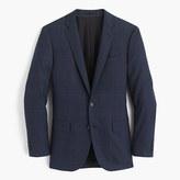 Ludlow Suit Jacket In Windowpane Italian Wool