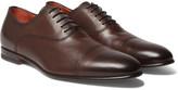 Santoni - Leather Oxford Shoes