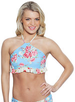 Betsey Johnson Urban Rose Halter Top