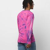 Vans Tie Dye Checker Long Sleeve T-Shirt