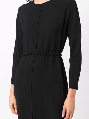 Antonelli Long-Sleeve Midi-Dress