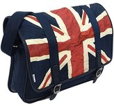 Ben Sherman Men's Union Jack Messenger Bag