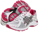 Asics GEL-Foundation 10 (White/Lightning/Raspberry) - Footwear