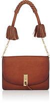 Altuzarra Women's Ghianda Flap-Front Shoulder Bag-TAN