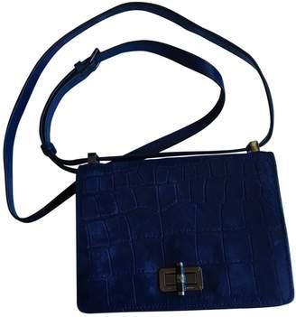 Diane von Furstenberg Blue Suede Handbags