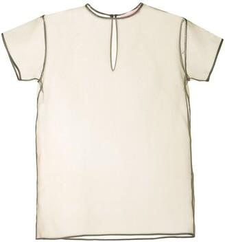 Lightweight Silk Short-Sleeved Top