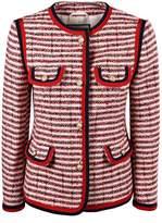 Gucci Stripe Tweed Jacket