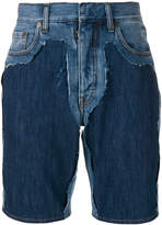 Maison Margiela fitted denim shorts
