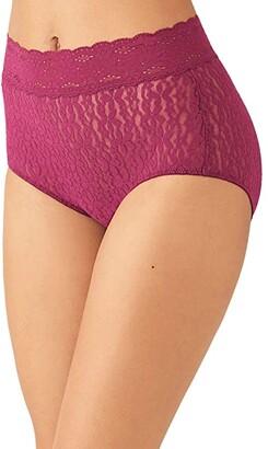 Wacoal Halo Lace Brief (Black) Women's Underwear
