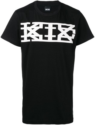 Kokon To Zai classic long logo print T-shirt