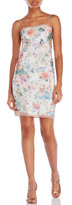 Alexis Mabille Floral Print Camisole Dress