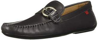 Marc Joseph New York Men's Leather Made in Brazil Buckle Driver Loafer