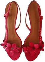 Sonia Rykiel Red Leather Sandals