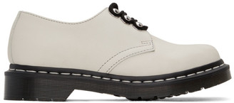 Dr. Martens White 1461 HDW Oxfords