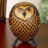 Mate Gourd - Owl