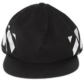 Off-White Men's White/black Cotton Hat.