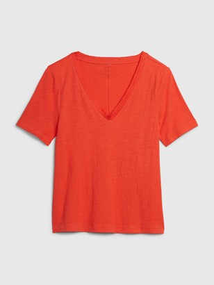 Gap Slub V-Neck T-Shirt