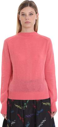 Marc Jacobs Cardigan In Rose-pink Wool