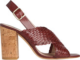 LK Bennett Mel woven leather sandals