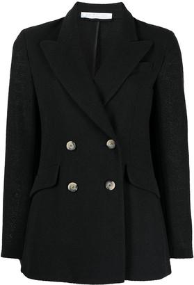 Harris Wharf London Double-Breasted Blazer Jacket
