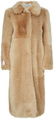 Stella McCartney Faux Fur Blinman Coat