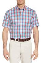 Cutter & Buck Martin Classic Fit Non-Iron Plaid Sport Shirt