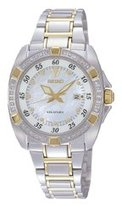 Seiko Women's Velatura SXDA20 Steel Two-tone Quartz Watch with Dial
