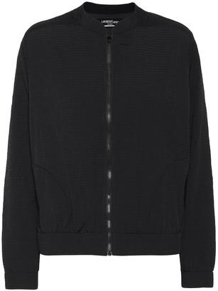 Lanston Evan seersucker bomber jacket