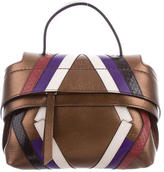 Tod's Python-Accented Micro Wave Bag w/ Tags