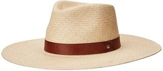 Rag & Bone Wide Brim Panama (Natural) Traditional Hats