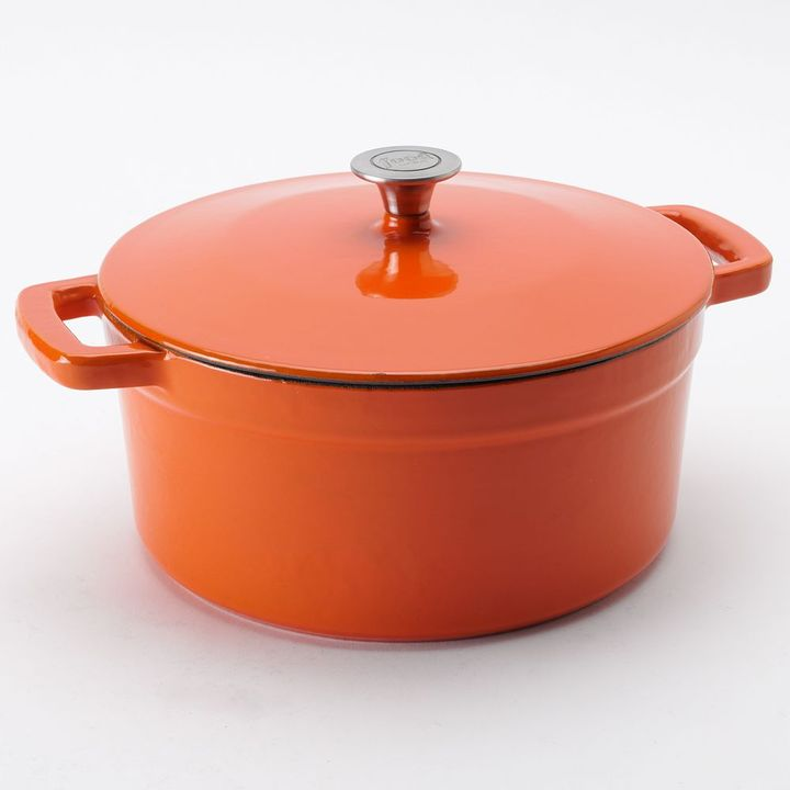 Food network TM 7-qt. enamel cast-iron dutch oven
