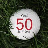 Letteroom Personalised Big Birthday Golf Ball