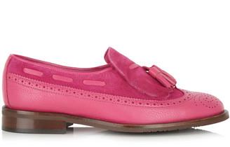 Its Got Soul Eleanor Fuchsia Pink Loafer