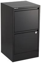 Bisley 2-Drawer File Cabinet Black