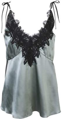 Schumacher Dorothee lace embroidered camisole top