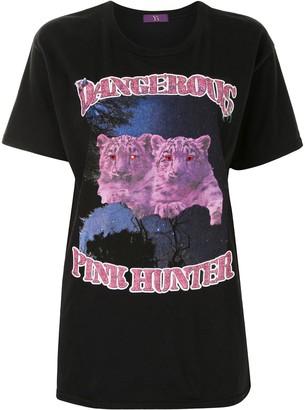 Y's tiger print T-shirt