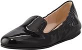 Prada Patent Scrunch Loafer Flat