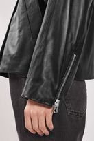 Boutique Leather shirt biker